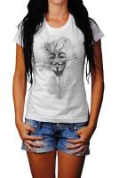 Anonymous Maske Herren und Damen T-Shirt BLACK-WHITE