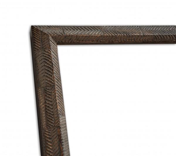 Rustikale Rahmenleiste in hellbraun moderne Oberflächenverziehrung