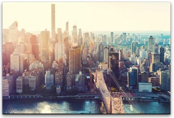 New York Abenddämmerung Wandbild in verschiedenen Größen