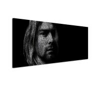 Kurt Cobain Portrait 150x50cm