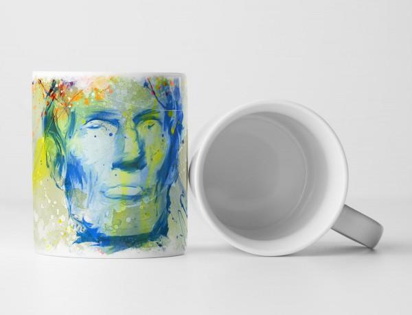 Abraham Lincoln Tasse als Geschenk, Design Sinus Art