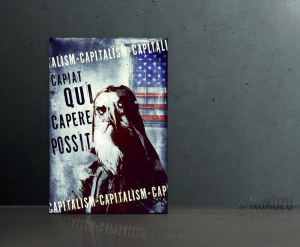 CAPITALISM 80x120cm