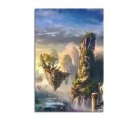 Floating Islands 5 Fantasy Art 90x60cm