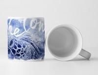 Sea Turtle Tasse als Geschenk,  Design Sinus Art