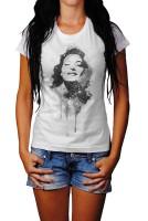 Ava Gardner III Herren und Damen T-Shirt BLACK-WHITE