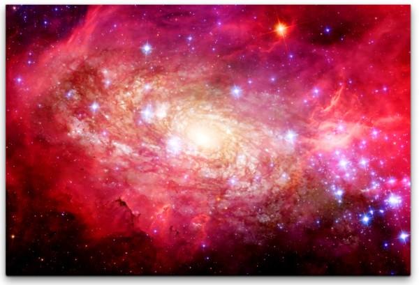 Sterne und Planeten Wandbild in verschiedenen Größen