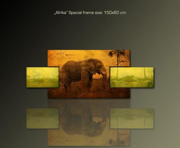 Afrika 150x60 cm
