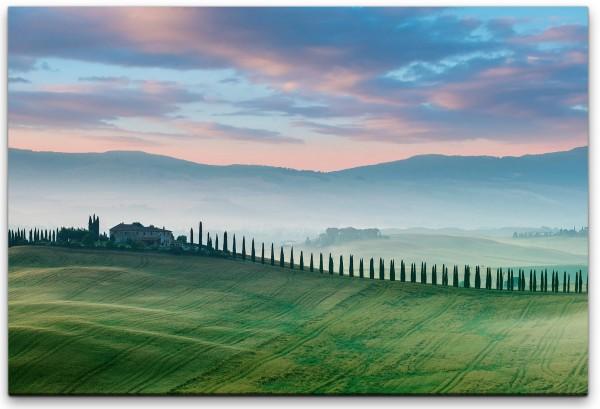 Landschaft Toskana Wandbild in verschiedenen Größen