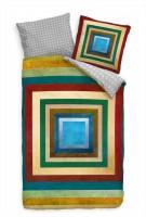Muster Abstrakt Kunst Geometrie Bettwäsche Set 135x200 cm + 80x80cm  Atmungsaktiv