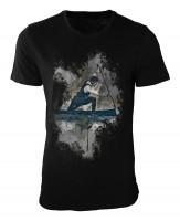 Rudern Damen und Herren T-Shirt schwarz / black
