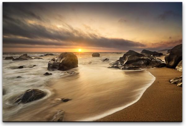 Strand Landschaft Wandbild in verschiedenen Größen