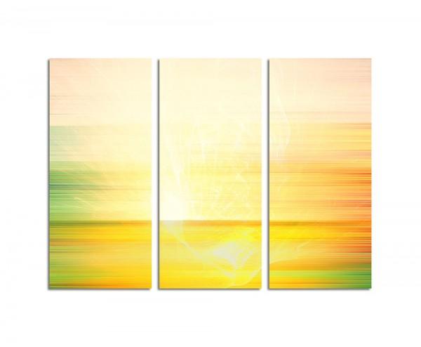 130x90cm Wandbild Abstrakt193 -3x90x40cm