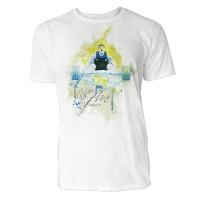 Gewichtheben Sinus Art ® T-Shirt Crewneck Tee with Frontartwork
