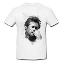 Willem Dafoe II Herren und Damen T-Shirt BLACK-WHITE