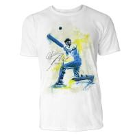 Cricket Sinus Art ® T-Shirt Crewneck Tee with Frontartwork