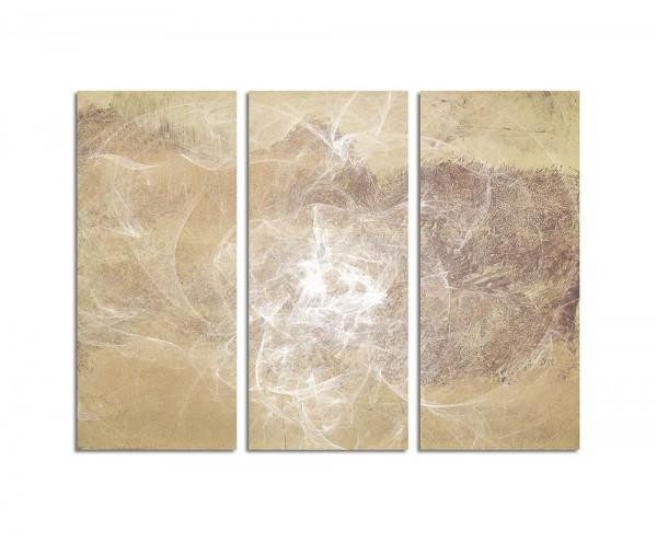 130x90cm Wandbild Abstrakt162 -3x90x40cm