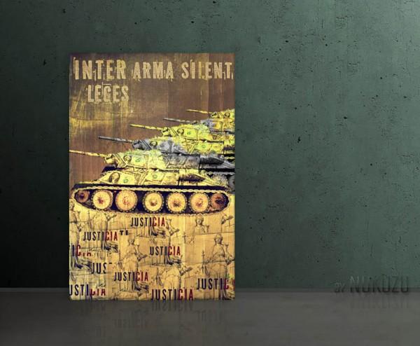 INTER ARMA SILENT LEGES 80x120cm