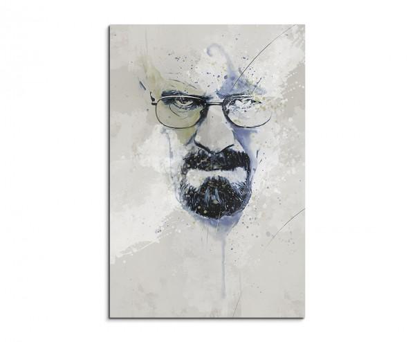 Breaking Bad Heisenberg II Aqua 90x60cm Aqua Art Wandbild