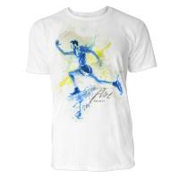 Sprinter Endspurt Sinus Art ® T-Shirt Crewneck Tee with Frontartwork