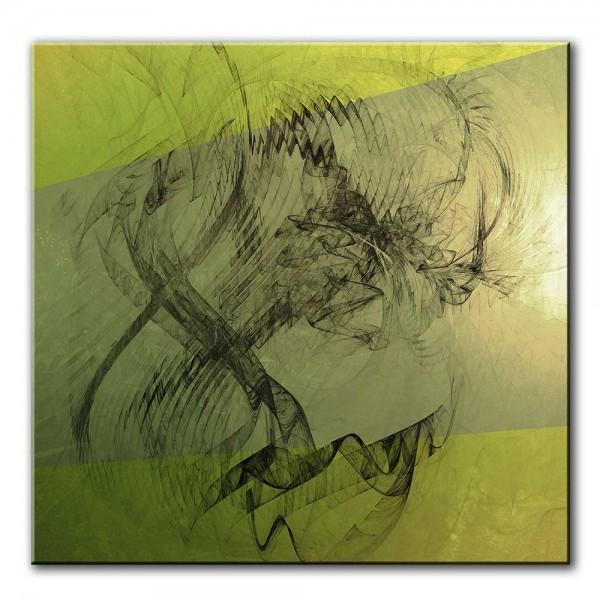 Im Schatten des Seins, abstrakt, 60x60cm