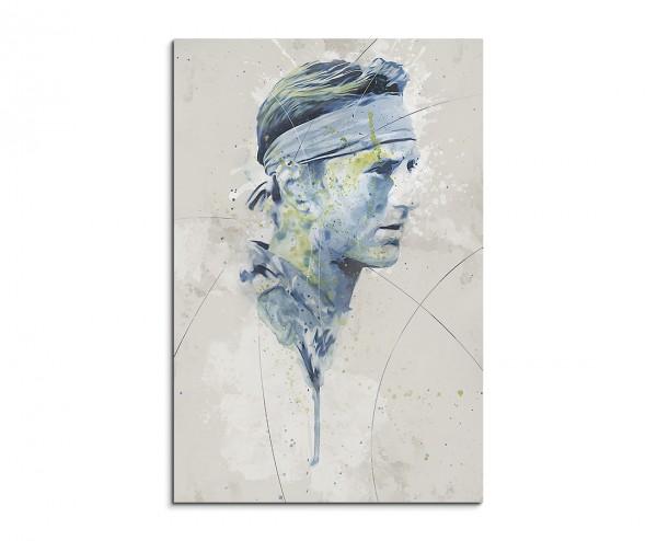 Robert De Niro Aqua 90x60 cm Aquarell Kunstbild