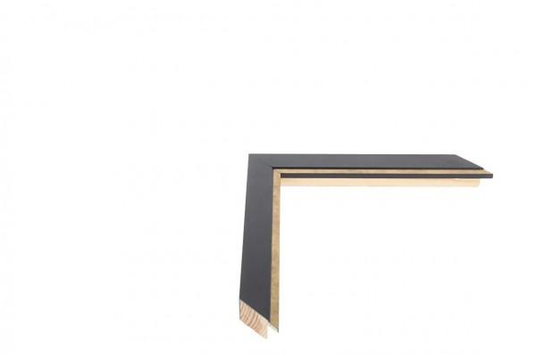 Echtholz Bilderrahmen PETITE - Black and Gold