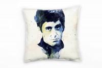 Al Pacino Scarface I Deko Kissen Bezug 40x40cm für Couch Sofa Lounge Zierkissen