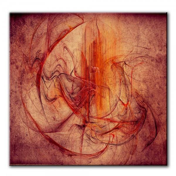 Kern der Liebe, abstrakt, 60x60cm