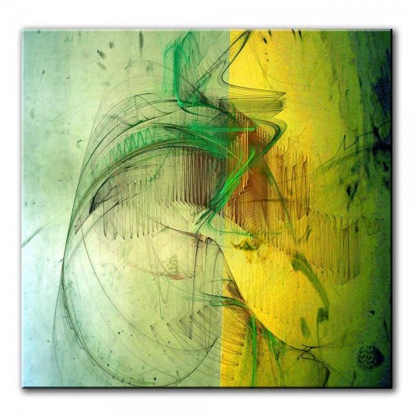 Verschmelzung, abstrakt, 60x60cm