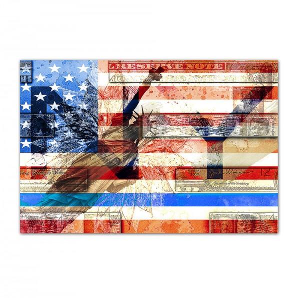 USA 2, 1, Art-Poster, 61x91cm