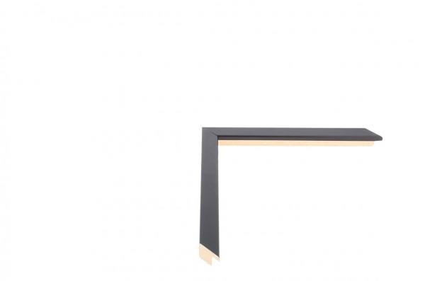 Echtholz Bilderrahmen CONFETTI XS - Black Small Cube