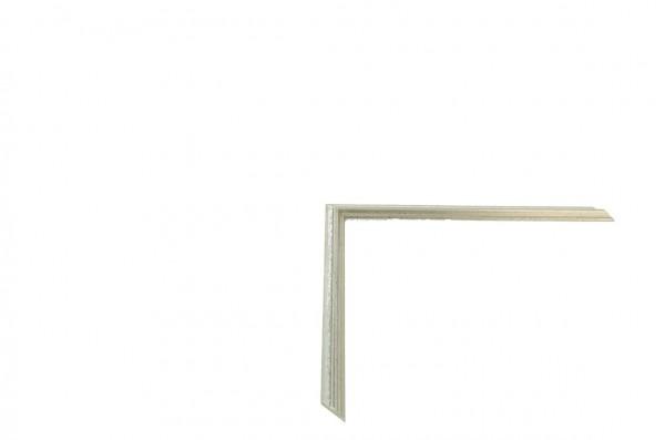 Echtholz Bilderrahmen ACADEMIE - Einlegeleiste Silver