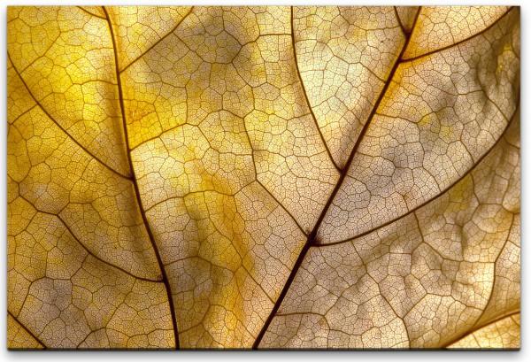 Herbstblatt Wandbild in verschiedenen Größen