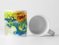 Bonsai Tasse als Geschenk,  Design Sinus Art