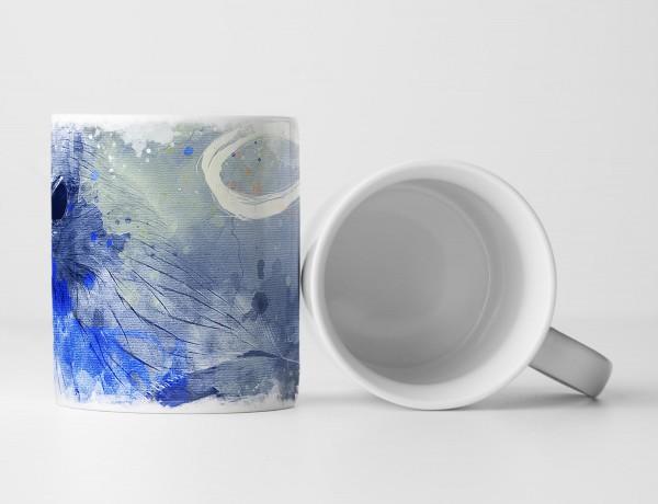 Adler Tasse als Geschenk, Design Sinus Art