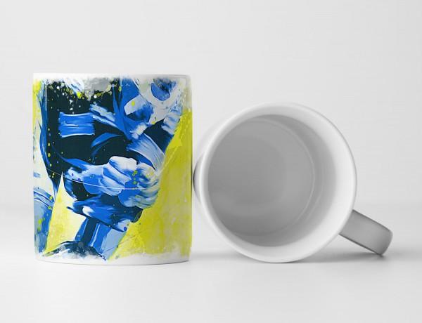 Radsport III Tasse als Geschenk, Design Sinus Art