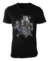 Rodeo Damen und Herren T-Shirt schwarz / black