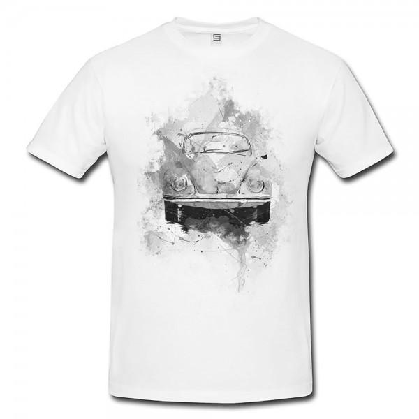 VW Kaefer I Herren und Damen T-Shirt BLACK-WHITE