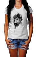 Audrey Hepburn V Herren und Damen T-Shirt BLACK-WHITE
