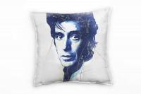 Al Pacino II Deko Kissen Bezug 40x40cm für Couch Sofa Lounge Zierkissen