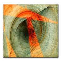 Windrad, abstrakt, 60x60cm