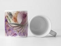 Tasse Geschenk verschiedene Muster in freundlichen Farben