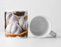 Tasse Geschenk Foodfotografie – Knoblauch in der Schale