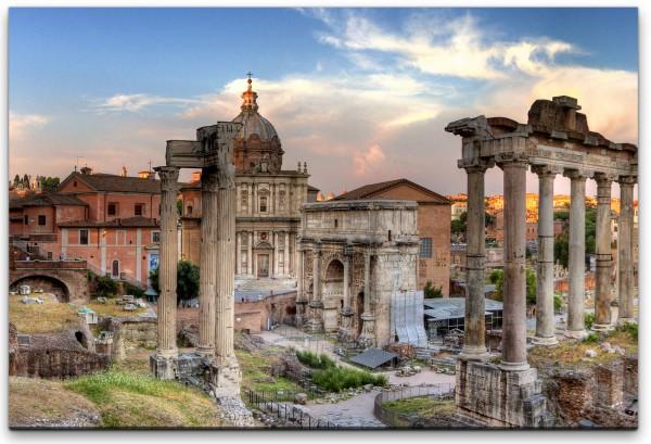 Panoramablick Rom Wandbild in verschiedenen Größen