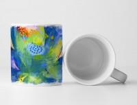Blume VI Tasse als Geschenk,  Design Sinus Art