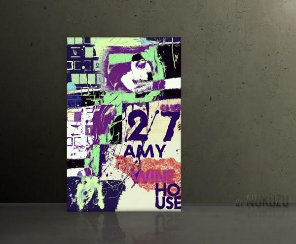 AMY WINEHOUSE CLUB 27 80x120cm