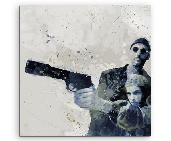 Leon Der-Profi Aqua 60x60cm Wandbild Aquarell Art