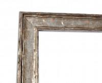 Vintage Bilderrahmen Fotoleiste Silber