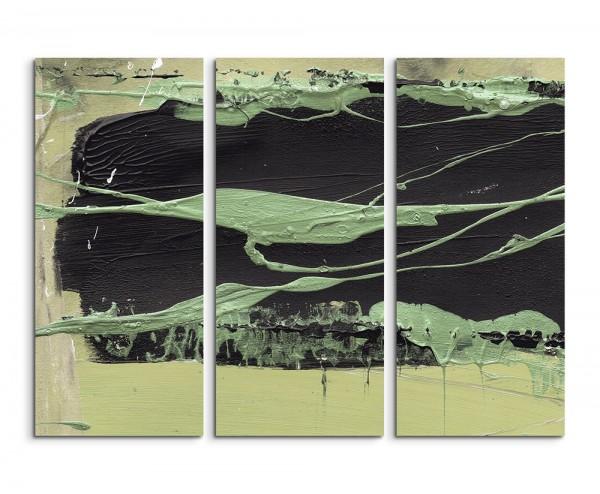 130x90cm Wandbild Abstrakt 506 -3x90x40cm