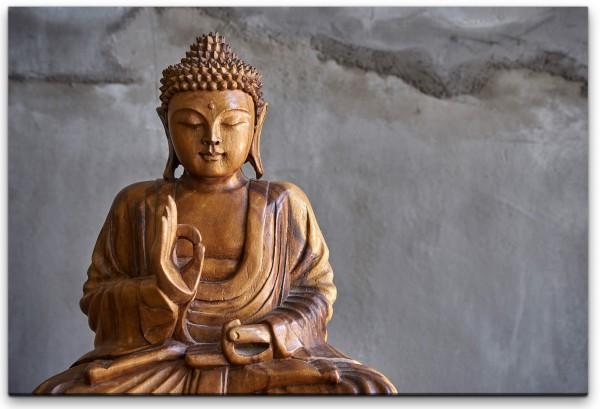 Buddhafigur Wandbild in verschiedenen Größen